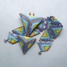 Duhové trojúhelníky - přívěsek