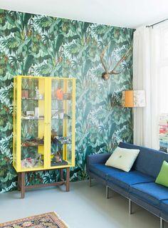 Gabriëlla en Paul bruisen van de ideeën en zijn altijd bezig om hun karakteristieke zaans huis in Zaandam nog mooier en efficiënter te maken.