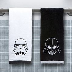 Star Wars Hand Towel Set - Darth Vader & Stormtrooper | ThinkGeek