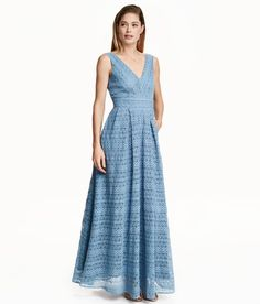 Pin for Later: The Most Stylish Wedding Guest Dresses — at Every Price Point  H&M Lace Maxi Dress ($129)
