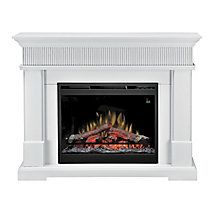 Dimplex Harlow Electric Fireplace White Electric Fireplace