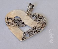 Heart pendant by Erena71.deviantart.com on @DeviantArt