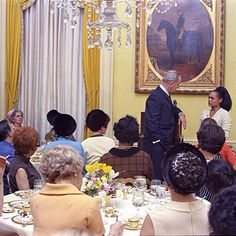 Eartha Kitt speaking truth to power at a 1968 luncheon at the White House hosted by Lady Bird Johnson which resulted in  Kitt being blacklisted in the US for nearly a decade. Source: durgapolashi