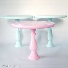 Pastel Cake Stand