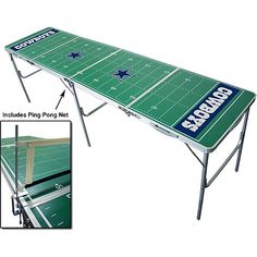Wild Sports Dallas Cowboys Tailgate Table with Net - NFLShop.com