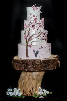Why Is Everyone Talking About Rustic Cake Stands For Wedding Cakes? - Why Is Everyone Talking About Rustic Cake Stands For Wedding Cakes? - rustic cake stands for wedding cakes Rustic Wedding Groom, Rustic Wedding Showers, Rustic Wedding Reception, Wedding Shower Favors, Wood Wedding Cakes, Country Wedding Cakes, Floral Wedding Cakes, Wedding Cake Stands, Slab Cake