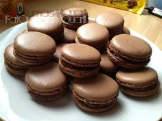 Macaron au Chocolat Meringue Italienne de Christophe Felder