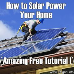 Please Share This Page: If you are a first-time visitor, please be sure to like us on Facebook and receive our exciting and innovative tutorials and info! Our modern technology has ushered an era where living in homes conveniently powered by solar energy is not anymore a far-fetched or for-millionaires-only dream. With the advent of [...]