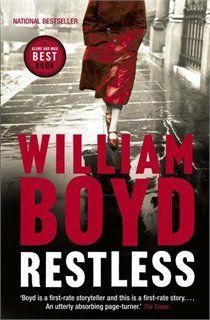 Restless - William Boyd. En Chile se vende como 'Sin Respiro'. Es un libro magnífico, con una narrativa cautivante.