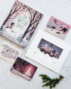 The Wish Tree is a poetic and heartwarming picture book about discovering that wishes can come true in the most unexpected ways. For a limited time, get a free signed print and card set when you buy a copy!