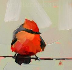 vermillion flycatcher no. 4 prattcreekart