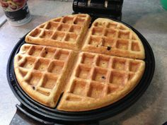 GLUTEN FREE waffles. recipes calls for eggs so Ill have to replace those too!