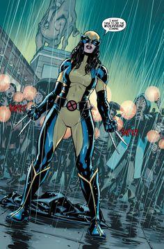 COMICS CONTINUUM / Marvel Comics First Looks: All-New Wolverine #1