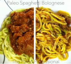 Spaghetti Bolognese, Paleo style by The Paleo Professional