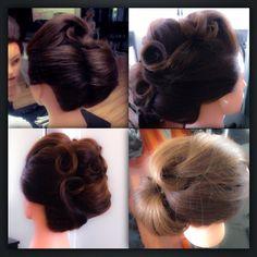 Hair up, bridal, formal, weddings