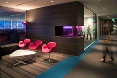 Ontera is a Australian based company that produces very cool modular carpet. Hotel Carpet, New Carpet, Modern Carpet, Hallway Carpet Runners, Cheap Carpet Runners, Stair Runners, Corporate Interiors, Office Interiors, Corporate Design