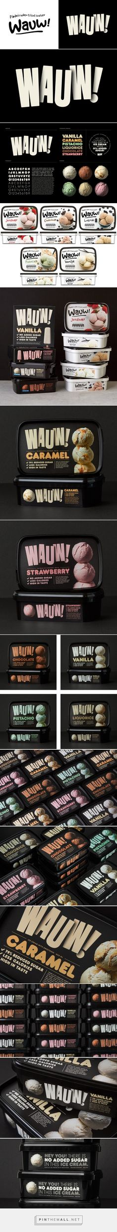 Brand New: New Logo and Packaging for Wauw by Snask - created via https://pinthemall.net