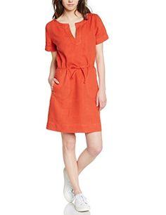 Bensimon Tulum - Robe - Tunique - Uni - Manches courtes - Femme - Orange (Dark Organe) - FR: 38 (Taille fabricant: S) Bensimon http://www.amazon.fr/dp/B00OOHL06I/ref=cm_sw_r_pi_dp_cWKKvb01E1RDT