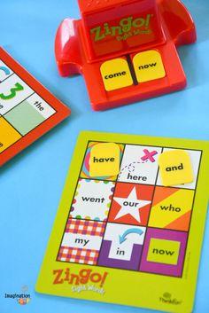 Fun Sight Words Game: Zingo! (makes learning sight words fun)