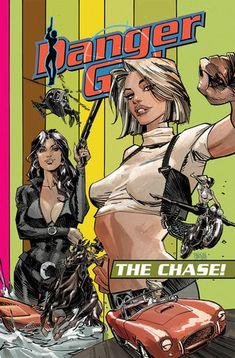 Comic Book Covers, Comic Books Art, Meninas Comic Art, Bd Pop Art, Comic Character, Character Design, Danger Girl, Scott Campbell, Comic Drawing