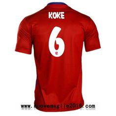 Maglia Atletico Madrid Koke Home 2015-2016