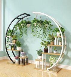 Garden Rack, Garden Stand, Garden Shelves, Indoor Plant Shelves, Wall Of Plants Indoor, Plants On Shelves, Indoor Plant Stands, Diy Plant Stand, Indoor Plant Decor