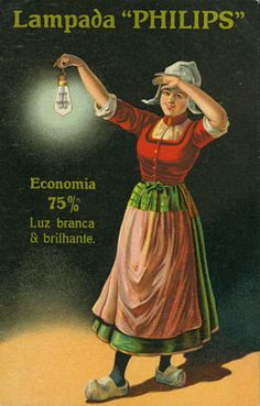 Lampada Philips a filamento metallico (1900 - 1909) Vintage Advertising Posters, Old Advertisements, Vintage Posters, Vintage Prints, Retro Vintage, Vintage Labels, Vintage Colors, Vintage Pictures, Vintage Images