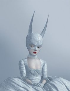 #Ray Caesar #innocent #sexy #red lipstick