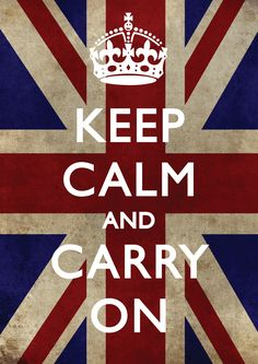 Keep Calm and Carry On was a propaganda poster produced by the Government of the United Kingdom in 1939 during the beginning of the Second World War, intended to raise the morale of the British public in the event of a Nazi invasion of Britain.
