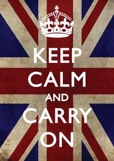 keep calm | Keep Calm and carry on! | Mariana Simionato