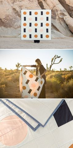 Trans Pecos Quilt by Vacilando Quilting Co. at Joshua Tree National Park Tree Quilt, Quilt Art, Quilt Stitching, Quilting, Fort Davis, Cute Sewing Projects, Leather Pillow, Craft Day, Textiles