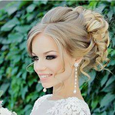 Formal Hairstyles, Bride Hairstyles, Messy Hairstyles, Long Hair Wedding Styles, Wedding Hair And Makeup, Bridal Hair Tutorial, Sombre Hair, Mother Of The Bride Hair, Prom Hair