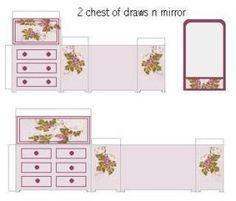 107 Best Mini Furniture Printables Images Doll Furniture