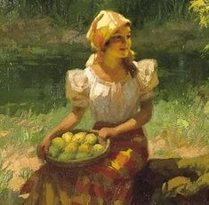 The Filipina by Fernando Amorsolo
