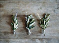 12 olive branch lavender boutonniere natural wedding ideas