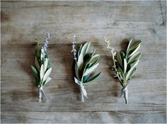 12 olive branch lavender boutonniere natural wedding ideas