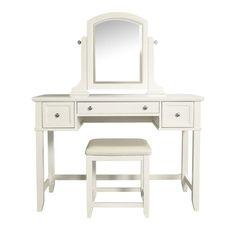 Vista Vanity Set White - Crosley® : Target