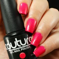 "Couture Gel Nail Polish in ""5th Avenue""."
