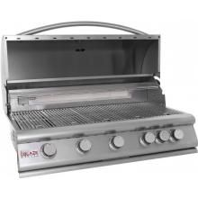 Blaze introduces an affordable commercial style grill that was designed with your outdoor BBQ challenges in mind. Blaze 40 Inch 5-Burner Built-In Gas Grill With Rear Infrared Burner #BBQGuys