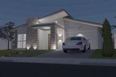 fachada de casas em 3d - Pesquisa Google