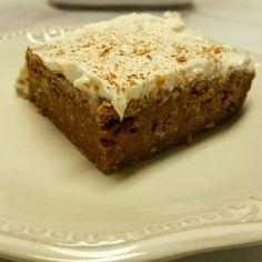 Yevo Pumpkin Oatmeal Cake.  43charlotte.com to order!!