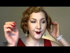 One of my fav tutorials, watch her part 1, part 2 pin curl videos plus her Marilyn hair one for specific pin curl instructions.