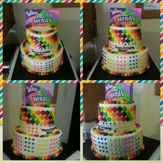 Willy wonka candy cake!  Girlie girl sweets on facebook