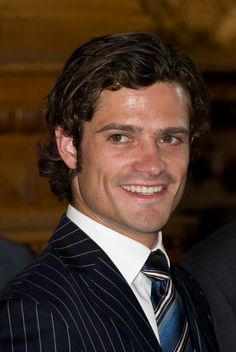 Prince Carl Philip is the only son of King Carl XVI Gustaf and Queen Silvia and is second to line for the Swedish throne. The guy is stunning!