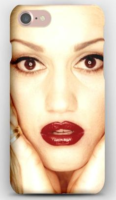 iPhone 7 Case Gwen stefani, Face, Lipstick, Look, Eyes