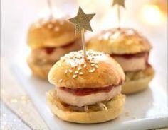 Recette - Burger de foie gras au confit de figues et noix | 750g