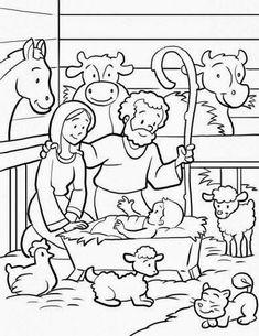 coloring pages desenhos para colorir o nascimento de jesus 23 pginas