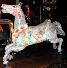 French Carousel Horse