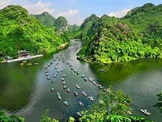 Trang An tourist site