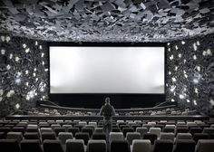 Exploded cinema in Wuhan, China, by One Plus Partnership World Architecture Festival, Cultural Architecture, Interior Architecture, Theater Architecture, Interior Design Awards, Interior Design Magazine, Wuhan, World Festival, Theatre Design